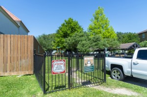 Two Bedroom Apartments for Rent in Northwest Houston, TX -Dog Park Entrance